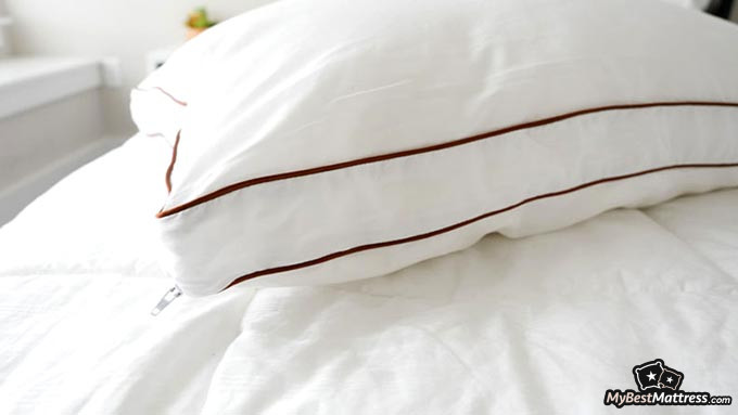 Best cooling pillow: Saatva Dreams pillow.