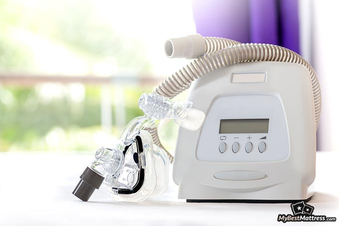 Best CPAP machine: A CPAP machine placed on the table.