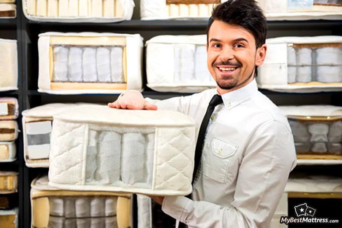 Best place to buy a mattress: a mattress sales guy.