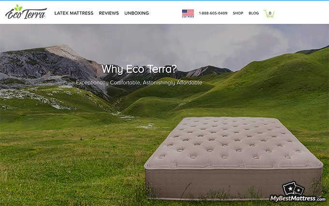 Eco Terra mattress review: about