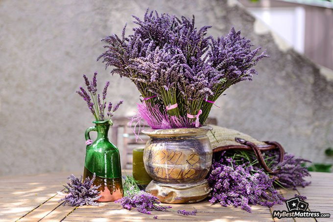 Essential oils for sleep: lavender