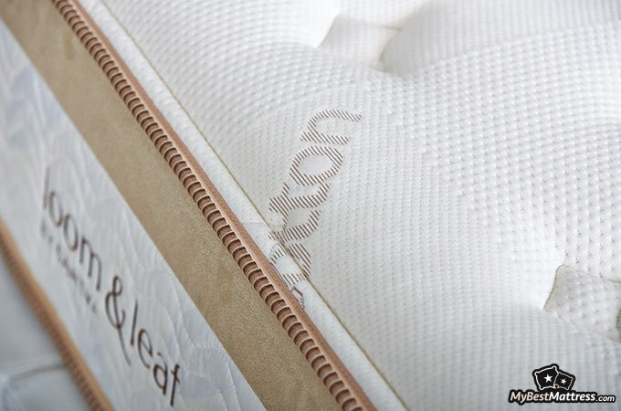 Loom and Leaf reviews: the first layer of the Loom and Leaf mattress.