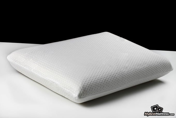 Sleeping without a pillow: memory foam pillow