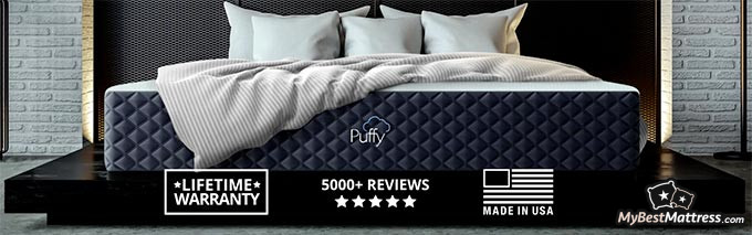 Puffy pillow review: homepage benefits.