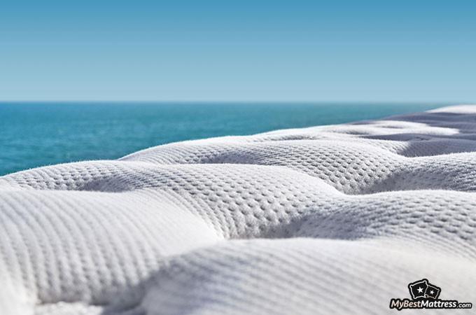 Best hybrid mattress: Saatva.