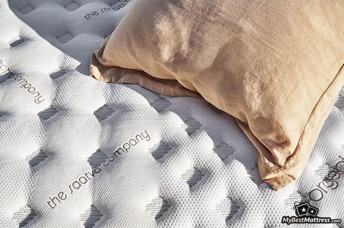 Best Mattress for Back Pain: Saatva mattress.
