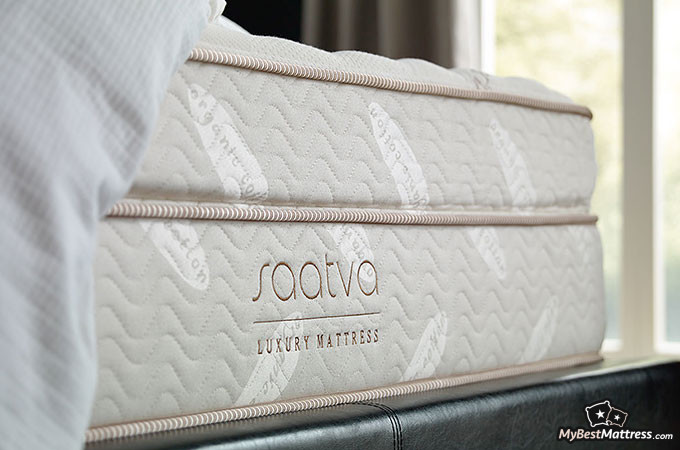 Best Mattress: Saatva Luxury Mattress.