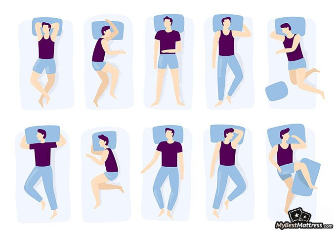 Best sleeping position: sleeping positions